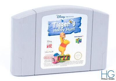 Tigger's Honey Hunt - N64 Nintendo 64 Retro Game Cartridge PAL
