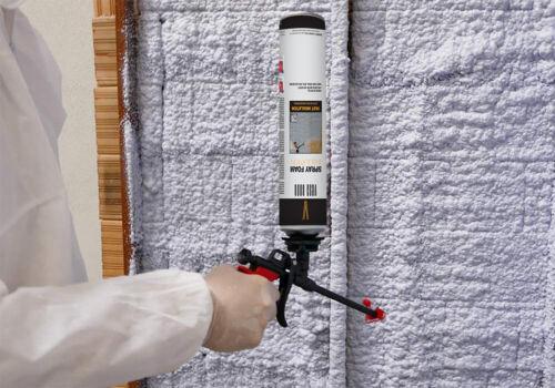 Vega Bond 6 Pack Heat and Acoustic Insulation Spray Foam with App Gun