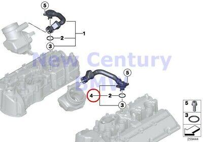 Genuine BMW E60 E61N E63 E64 Coupe Crankcase Ventilation Hose OEM 11617838897