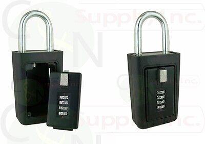 2 Lockboxes Realtor Key Storage Lock Box Real Estate 4 Digit Lockbox
