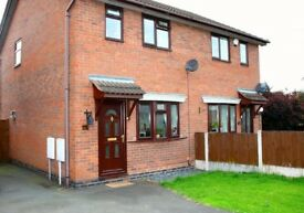 2 Bedroom House to Let. Central Newport, Shropshire. Gardens and off road parking. 10a Barnmeadow Rd