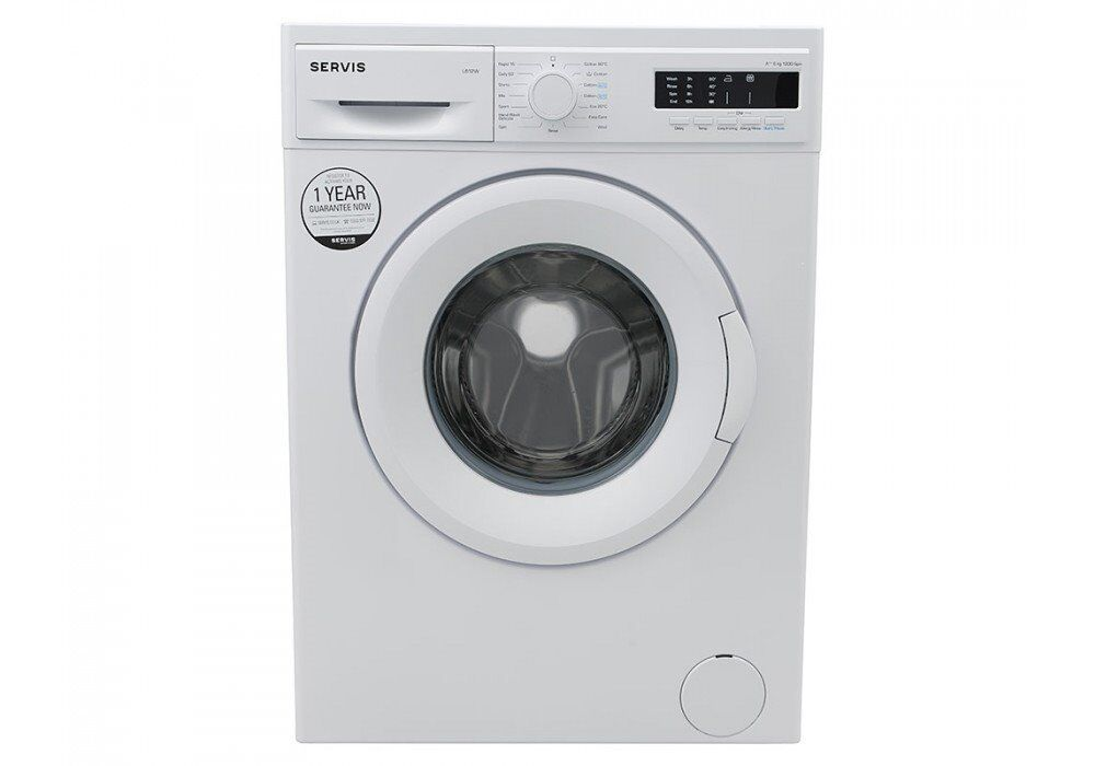 Servis L612W 6KG 1200RPM Washing Machine - FREE DELIVERY