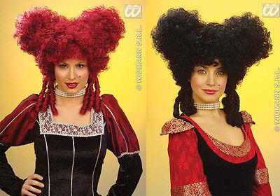 Kostüm Königin der Herzen Perücke Barock Antoinette Märchen Mädchen Saloon Haare (Königin Der Herzen Kostüm Haar)