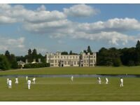 Cricket Umpires and Scorers wanted for Country House Cricket Matches