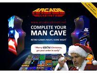 Retro Multi Arcade Machine Cabinet - NEW