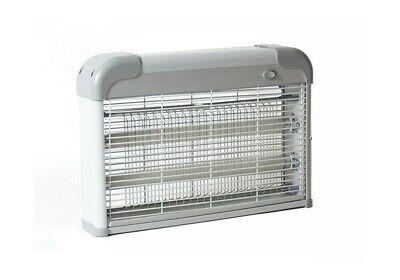 Mata moscas Ultravioleta 20W electrico lampara anti mosquitos ABS 2 tubos