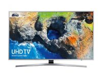 Samsung 40 Inch 4K Ultra HD HDR LED Smart TV With Box
