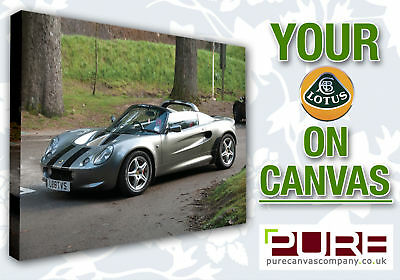 YOUR LOTUS Elise Exige Elan Evora Europa On CANVAS