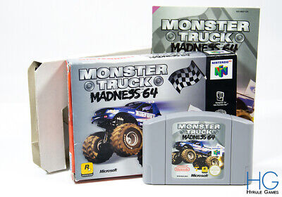 Monster Truck Madness 64 Boxed - N64 Nintendo 64 Game Cartridge PAL