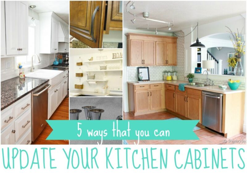 Beautiful ... Update Kitchen Cabinets By 5 Ways To Update Kitchen Cabinets Ebay ...