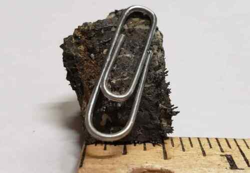 Naturally Magnetic Lodestone 1/2 Inch High Grade Magnetic Magnetite
