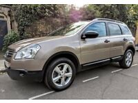 2009 NISSAN QASHQAI + 2 ( 7 SEATER ) 2.0DCI - EXC CONDITION - 6SP - PAN ROOF