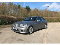 High Spec Mercedes-C250 2.1L Diesel Silver