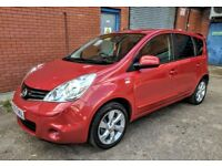 NISSAN NOTE N-TEC 1.5 DCI - 2009 - SAT NAV / BLUETOOTH - LONG MOT