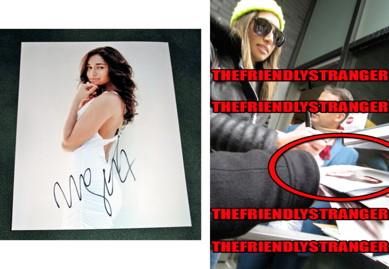 MEAGHAN RATH signed Autographed 8X10 PHOTO D - EXACT PROOF - Hawaii Five-0 COA