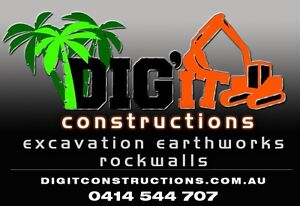 Dig it constructions Rockwalls Maudsland Gold Coast West Preview