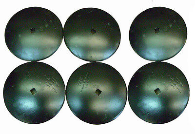 16 Smooth Disc Harrow Blades Heavy Duty 1 Or 1 18 Sq New Lot Of 6