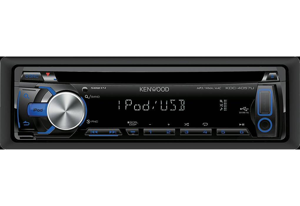 Kenwood cd player usb slot aux in