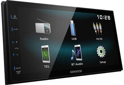 KENWOOD 2-DIN Auto Radioset USB/IPOD für MERCEDES CLK 208/ML-Klasse