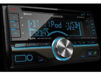 Kenwood double din headunit (good features)