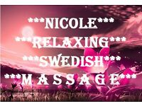 *** NICOLE RELAXING SWEDISH MASSAGE ***
