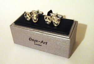 Comedy-Tragedy-Masks-Cufflinks-Theatre-Opera-Ballet-Performing-Arts