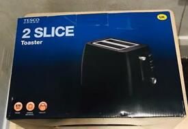New Tesco Two slice toaster