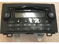 CD radio player for 2007 Honda CRV CR-V, immaculate