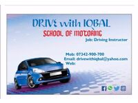 Driving lessons ( SPECIAL OFFER 2 HOURS LESSONS ONLY £35.
