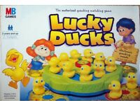 MB Games Lucky Ducks - The motorised quacking matching game