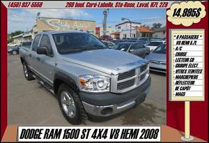 2008 Dodge Ram 1500 ST A/C CRUISE MAGS