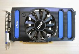 MSI NVIDIA GEFORCE GTX 660 2GB PCI-E N660-2GD5/OC
