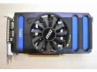 MSI NVIDIA GEFORCE GTX 660 2GB PCI-E N660-2GD5/OC