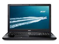 "intel Core i5 Acer TravelMate P255 Laptop - 15.6"" - Black"