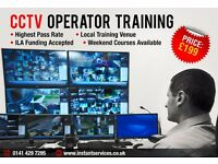 CCTV Operators Licence Course in Glasgow £199 Only | ILA Funding Accepted | SIA Licence Training