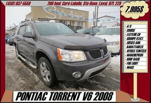 2008 Pontiac Torrent V6 A/C CRUISE MAGS