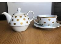 Tea For One Teapot & Mug