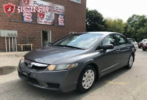 2009 Honda Civic DX/CERTIFIED/WARRANTY INCLUDED