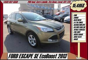 2013 Ford Escape SE EcoBoost CUIR NAV