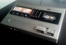JVC TAPE DECK, rare vintage item, good condition, needs service