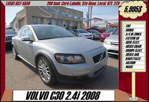 2008 Volvo C30 TOIT A/C CRUISE MAGS