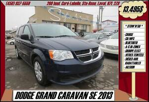 2013 Dodge Grand Caravan SE STOWnGO BLUETOOTH