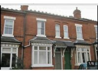 House to rent, leighton road, moseley village. 2 bedrooms