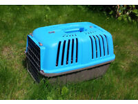 Pet Carrier for small dogs, cats, rabbits, used a couple of times