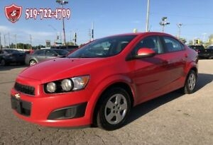 2014 Chevrolet Sonic LS/ONE OWNER/CERTIFIED/WARRANTY INCLUDED
