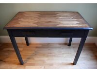 *CAN DELIVER* Reclaimed/Handmade Abbess-style Desk Table Drawers Utility Industrial Farrow & Ball