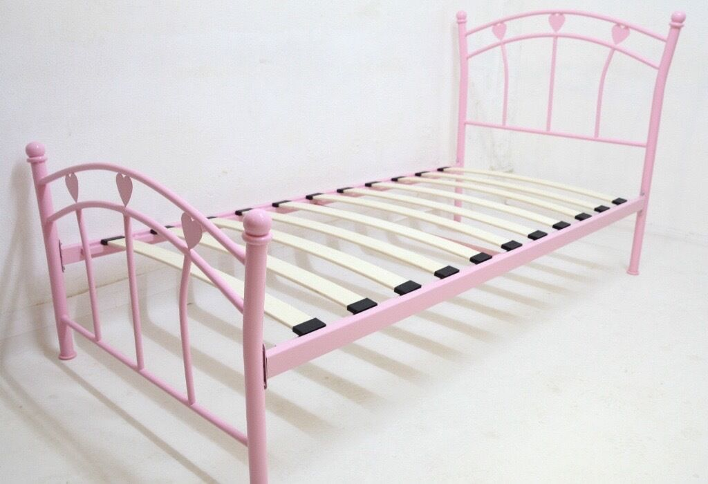NEXT Pink Heart Bed Frame | in Widnes, Cheshire | Gumtree