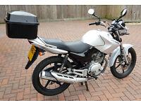 Genuine Low Mileage Yamaha YBR125 Motorcycle