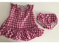 Ralph Lauren baby girl 6 months dress and knicker set