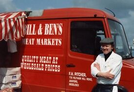 Business for Sale - Meat Marketing South West London - mobile shops